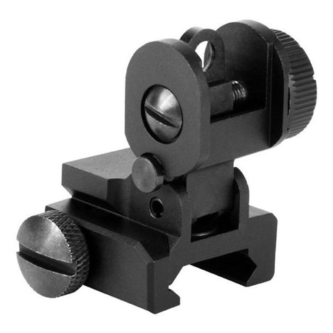 AIM Sports AR15/M16 A2 Dual Aperture Rear Flip Up Sight