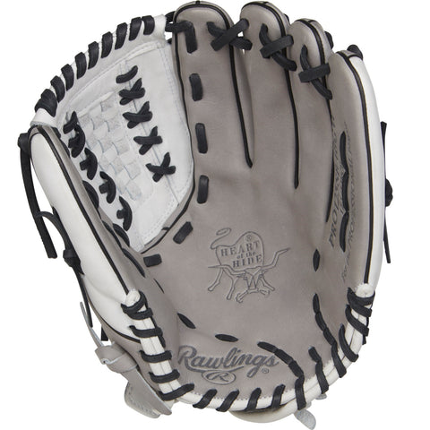 Rawlings Heart of the Hide 12.5in Softball Glove RH-Gray