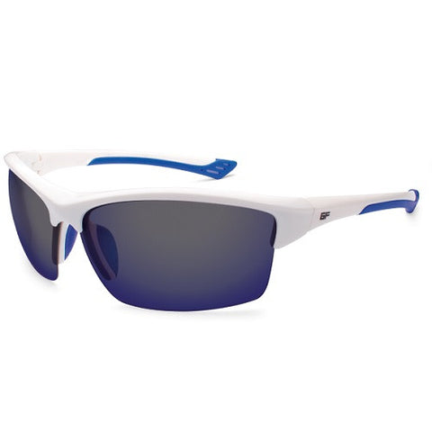 Gone Fishing Sunfish White/Blue Frame Grey/Sapphire Lens