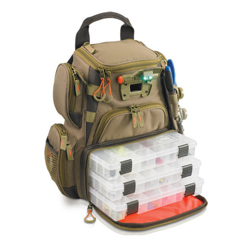 Wild River Tackle Tek Recon Lighted Backpack 4 Trays