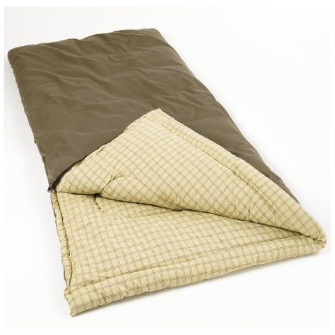 Coleman Big Game 84x40 Innch Rectangle Sleeping Bag Grey