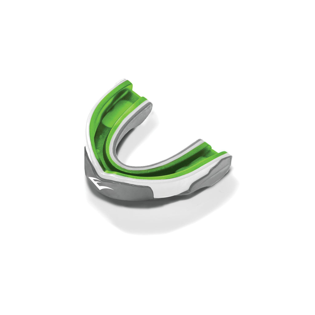 Everlast Evergel Single Mouthguard Green/Grey
