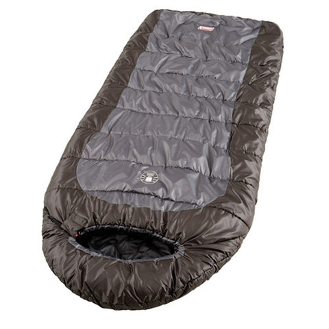 Coleman Big Basin 92x39 Inch Hybrid Sleeping Bag Brown/Grey