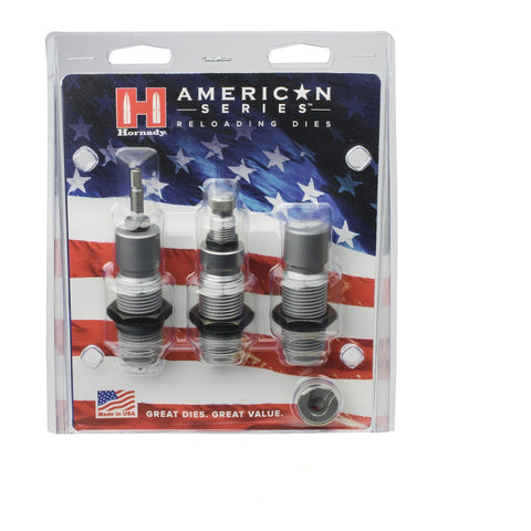 Hornady American Die Set 3 10MM /40 (.400) Free Shell Holder