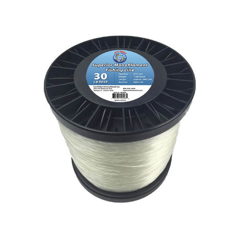 Joy Fish 5 Lb Spool Monofilament Fishing Line-30Lb Clear