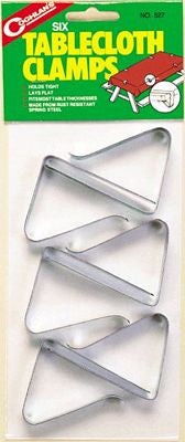 Coghlans Tablecloth Clamps - 6 Pack