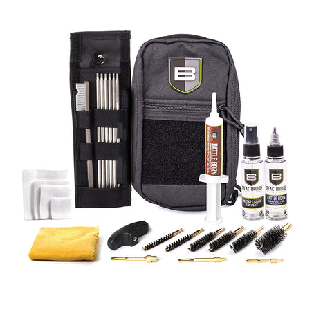 Breakthrough Cleaning Kit .22 cal thru 12 gauge - Black