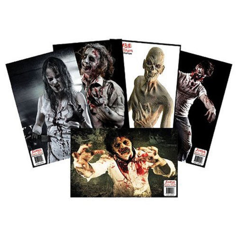 Benchmaster Zombie Shooting Target  Variety Pack- 25 pack