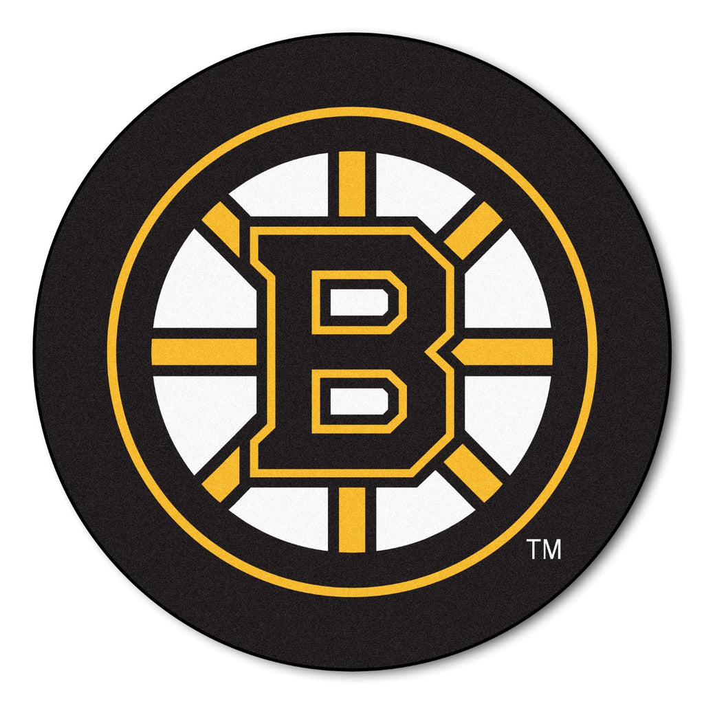 Fanmats Puck Mat NHL - Boston Bruins