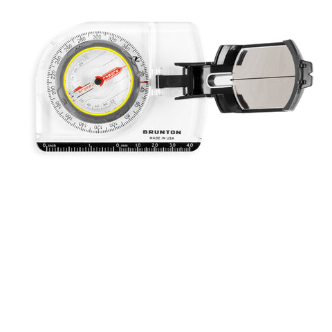 Brunton TruArc7 Mirror Compass, Global Needle, Clinometer,