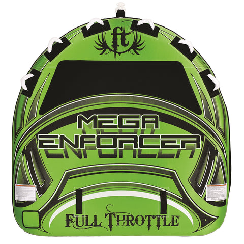 "Full Throttle Mega Enforcer 80"" D-Shaped Tube -Green"