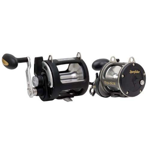 Fin -Nor Sportfisher Leverdrag Trolling Reel SLD25 845 yards