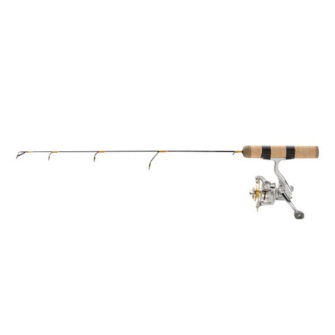 "Frabill Ice Hunter 38"" Heavy Ice Fishing Rod and Reel Combo"