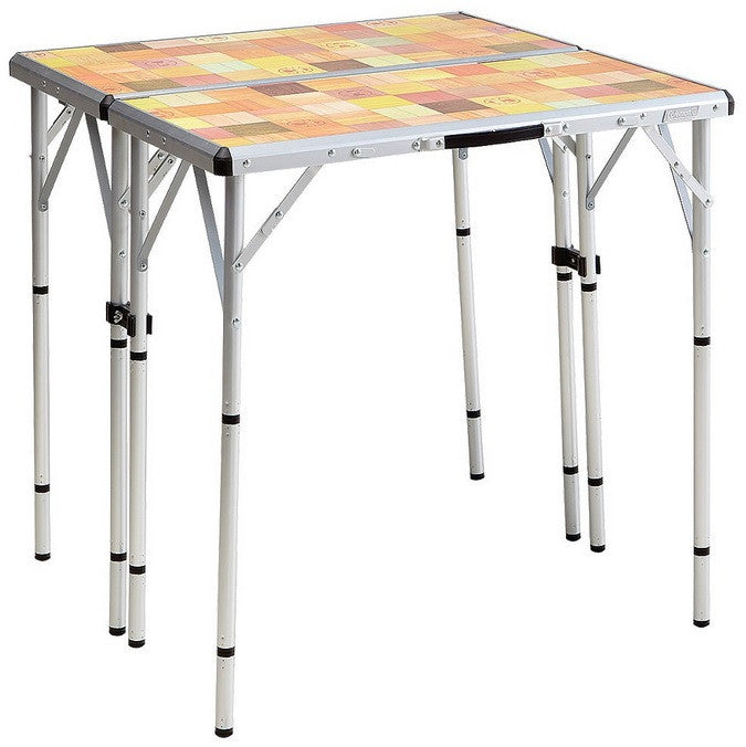 Coleman Pack-Away Outdoor 4-In-1 Mosaic Table 2000016594