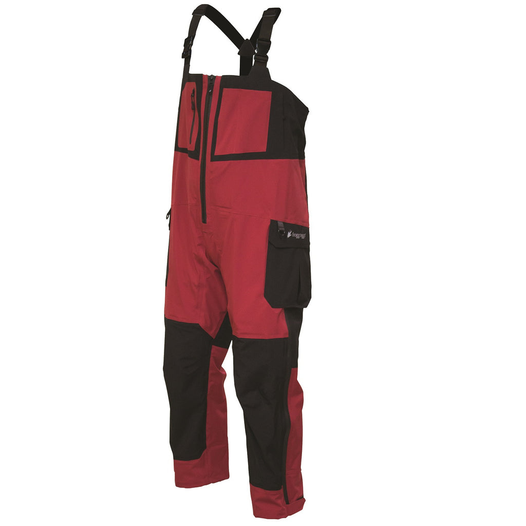 Frogg Toggs Pilot Frogg Guide Bib Red/Black - Large