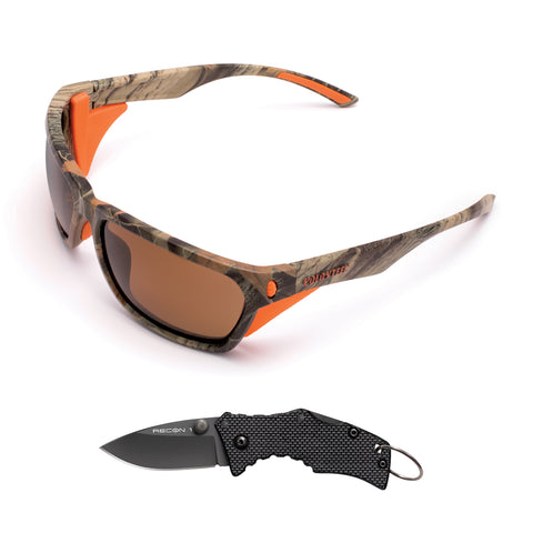 Cold Steel Battle Shades Mark III - Camo w/Free Knife