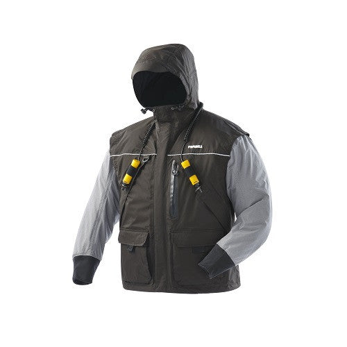Frabill Jacket I2 Black/Heather Grey X-Large