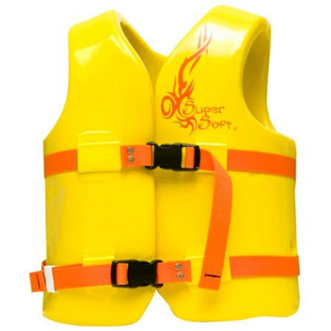 TRC Recreation Super Soft Small Child's Vinyl Vest Yellow