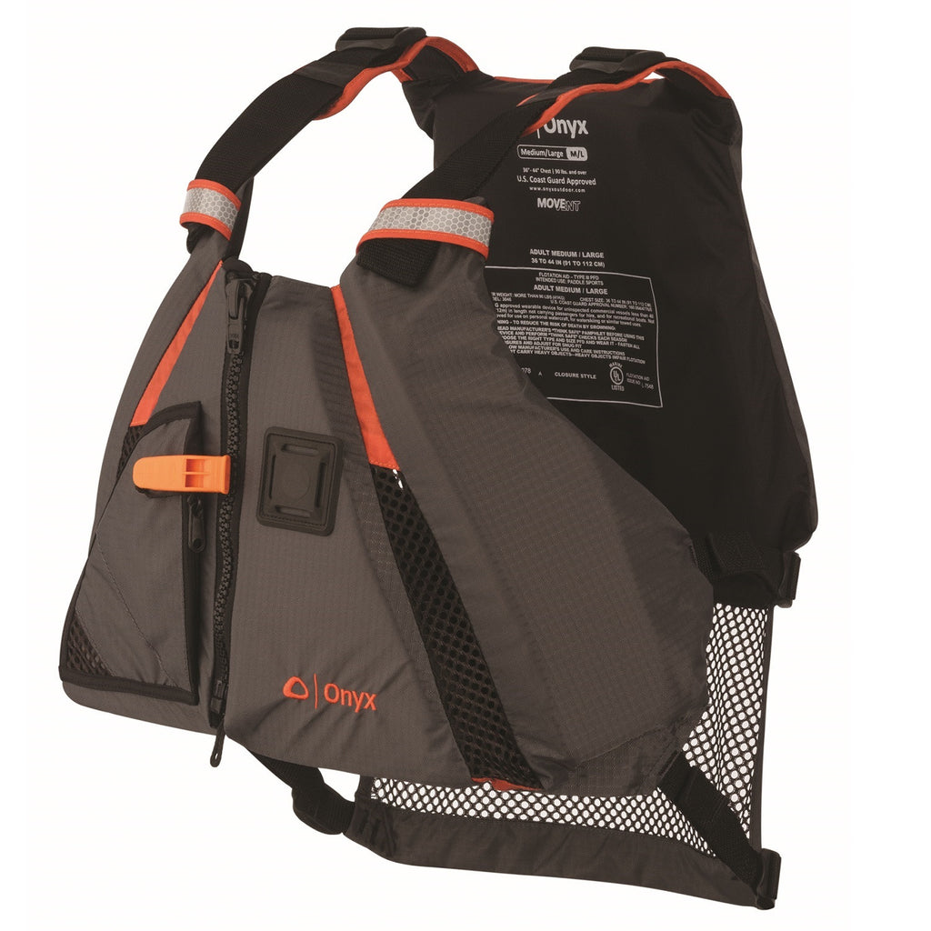 Onyx Outdoor Movevent Dynamic Vest-Orange-M/L