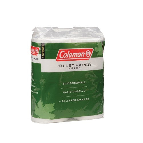 Coleman 4 Pack Toilet Paper Green/White 2000014861