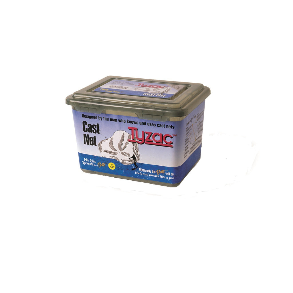 "Betts Tyzac Cast Net 4ft Nylon 1/4"" Mesh Box"
