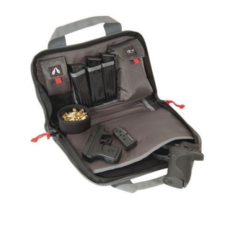 G.P.S. Double Pistol Case Black GPS-1308PC