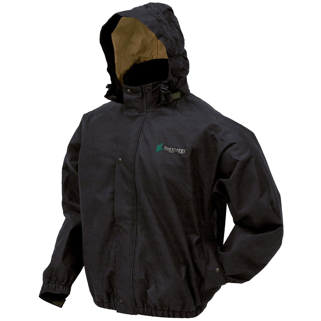 Frogg Toggs Bull Frogg Jacket Black - Small