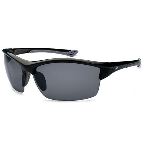 Gone Fishing Sunfish Black/Grey Frame/Grey Lens Sunglasses