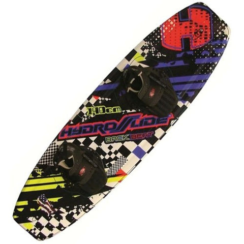 Hydroslide Back Beat Wakeboard with Grabber Bindings