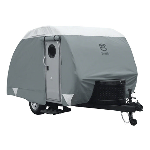 Classic Accessories Deluxe Teardrop Trailer Cover up to 8'