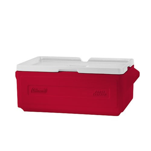 Coleman 24 Can Party Stacker Cooler Red 3000000450
