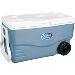 Coleman 100 Quart Xtreme Wheeled Blue Cooler 6201A748