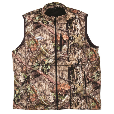 Flambeau Heated Vest Camo - Medium