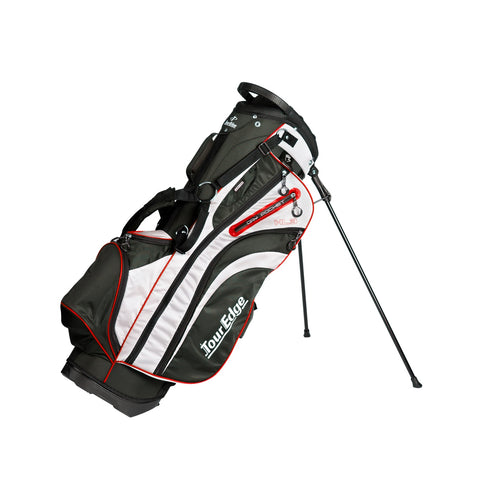 Tour Edge HL3 Golf Stand Bag Black/Silver/Red