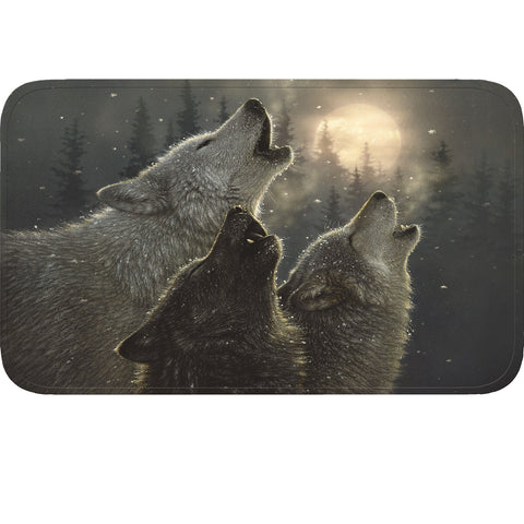 Rivers Edge Wolves Memory Foam Mat 31.5in x20in