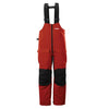 Frabill F2 Surge Rainsuit Bib - Red - 2XL