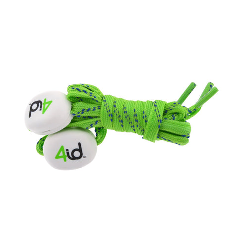 4id PowerLacez Light Up Shoelaces Green