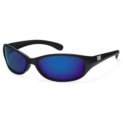 Gone Fishing Keeper Fish Blk Frame Grey Sapphire Mirror Lens