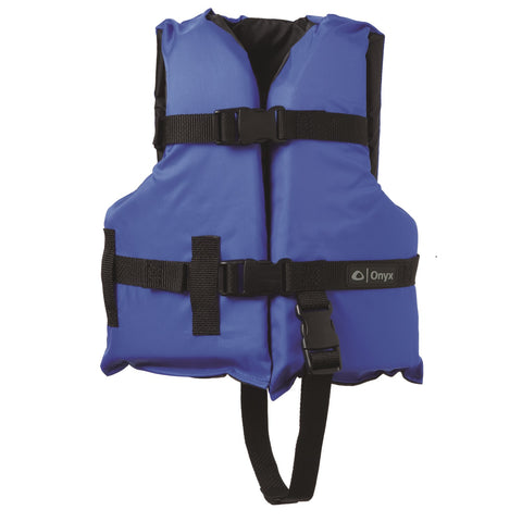 Onyx Child Boating Vest Blue/Black