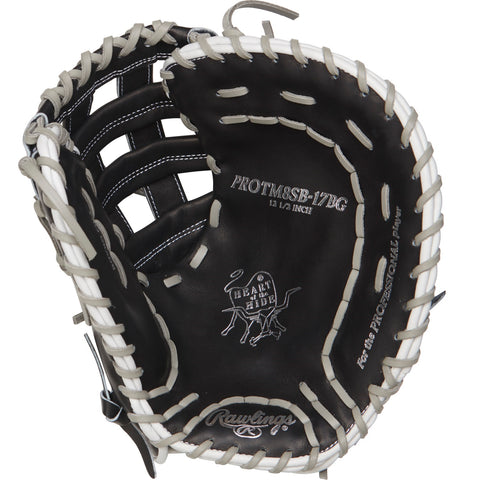 Rawlings Heart of the Hide 12.5in Softball FB Mitt RH-Black