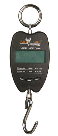 Big Game 330lb Digital Game Scale GSD330