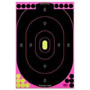 "BW Casey Shoot-N-C Pink 12""x18"" Silhouette Target-5 Targets"