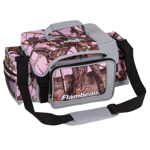 Flambeau Soft Tackle Bag Pink Camo XL
