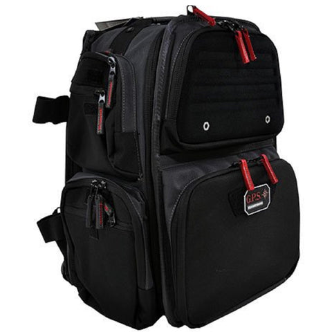 G.P.S. The Executive Backpack w/Cracle for 5 Handguns