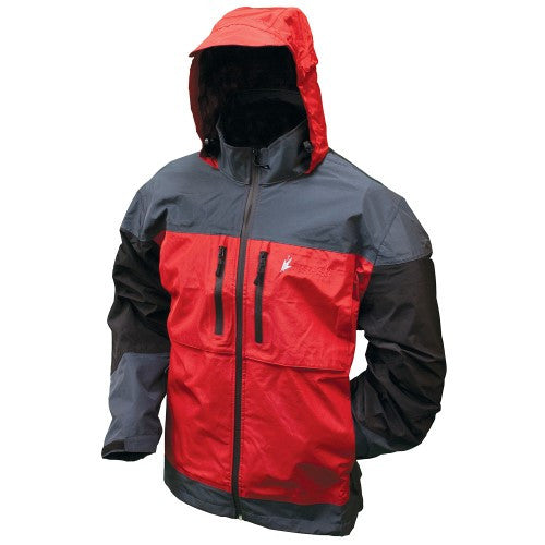 Frogg Toggs Toadz Anura Jacket Red / Slate / Black Large
