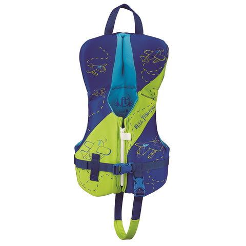 Full Throttle Infant Hinged Rapid-Dry Flex-Back Vest Green