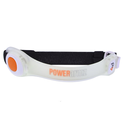 4id PowerArmz Light Up Armband Orange