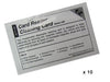 Fargo Cleaning Card - 10 / Pack