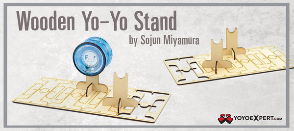 wooden yoyo stand