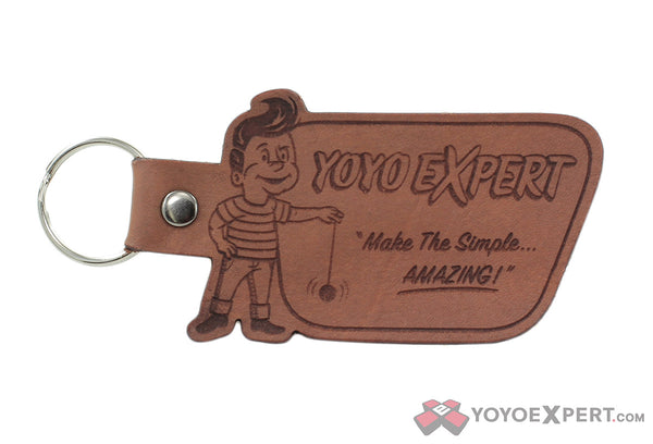 YoYoExpert Retro Leather Keychain-2